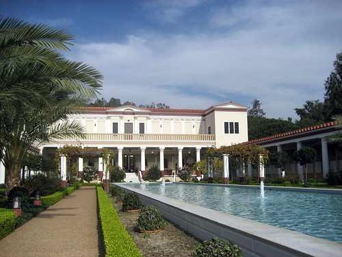 The Getty Malibu Villa