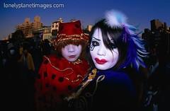 Harajuku Cosplay Pair (John Ashburne) Tags: street japan japanese tokyo nikon cosplay fisheye harajuku  nippon lonelyplanet nihon ashburne jfajapan lonelyplanetimages johnashburne httpwwwlonelyplanetimagescomsearchframehtmln0ntkallnttashburnentxmodematchpartialnty1dashburnedn0newperpage100 phototakeninjapan