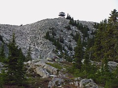 Granite Mtn Lookout from a distance