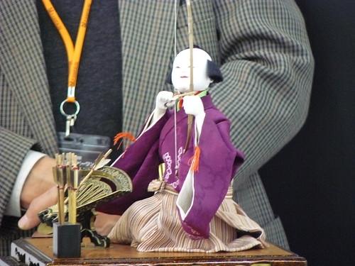 "Labo cafe ""Science Cafe: the Secret of Edo Karakuri (wind-up) doll"" by skasuga."