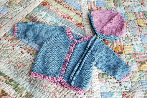 Baby Sweater Set for Alanah Armijo