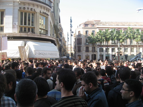 Computer Science strike in Málaga