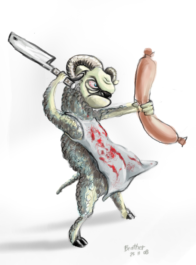 SUPER Stylised Challenge - November 2008 - Butcher