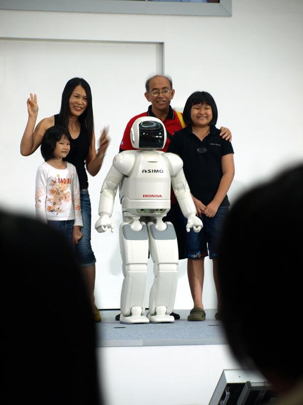 Robot Asimo Humanos