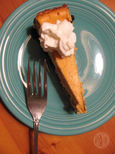 best pumpkin cheesecake EVER!!!