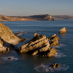 Mupe Rocks, Dorset - View East to Worbarrow Tout (David Crosbie) Tags: autumn coast rocks dorset lulworthcove jurassiccoast worbarrow mupebay scenicsnotjustlandscapes worldtrekker