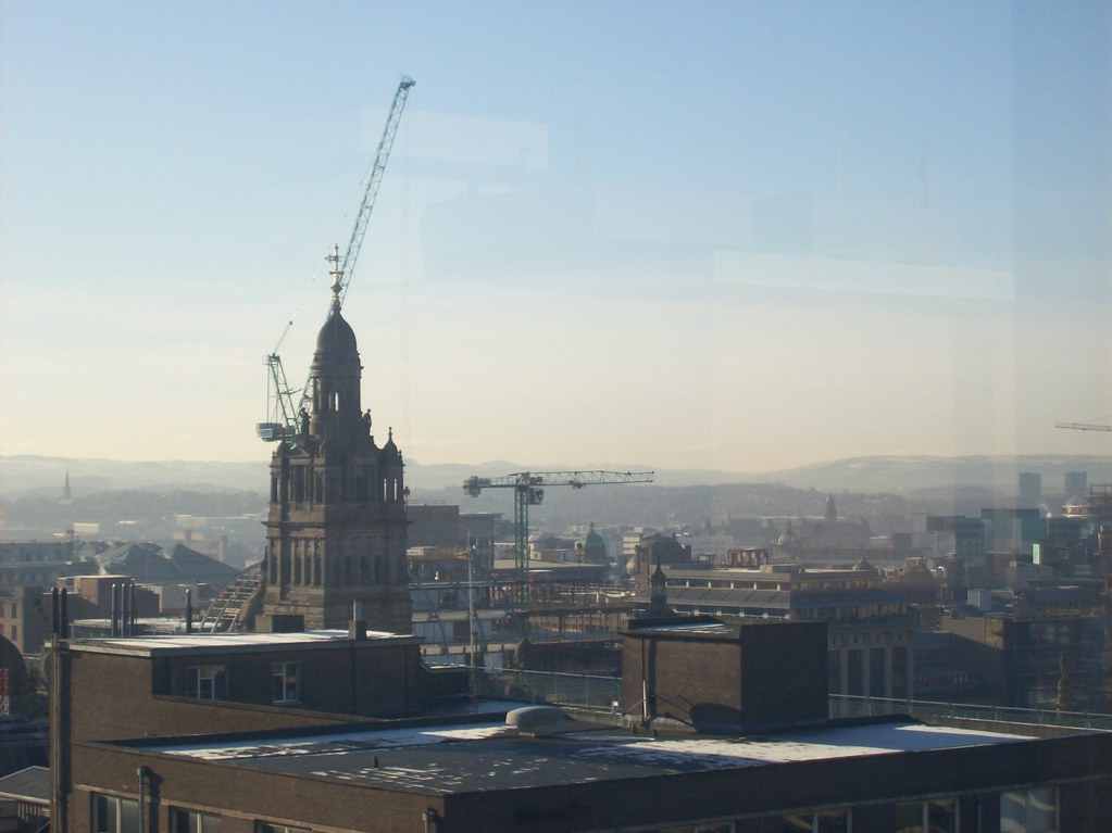 Glasgow from Strathclyde Uni