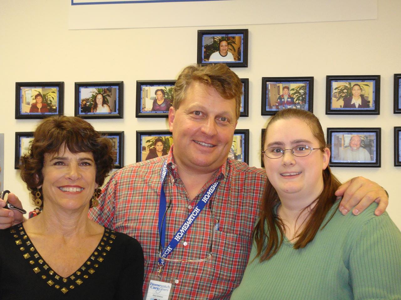 Susan, Peter, Rochelle