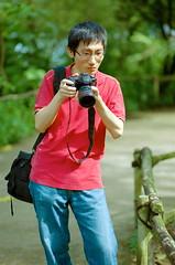 patrick (iamcjun) Tags: people man color slr film analog 35mm canon eos zoo singapore 200 konica centuria llens 1n filmcanon filmeos film1n