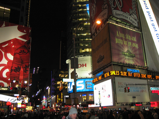 Billboards on Broadway (Click to enlarge)