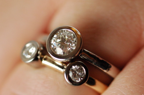 Engagement ring(s) on hand