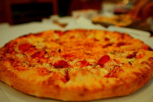 久々のピザ