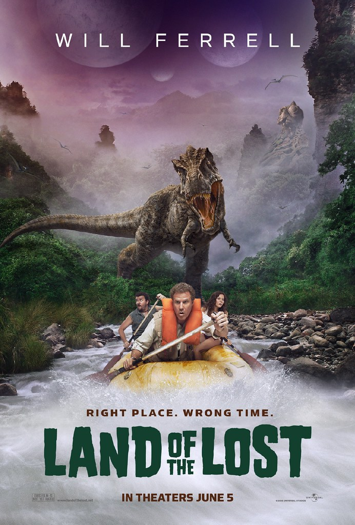 affiche land of the lost poster