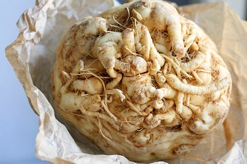 whole celery root