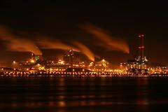 IJmuiden by night (Judith Nicolai) Tags: longexposure night lights nacht explore 2008 steelworks blastfurnace ijmuiden hoogovens corus