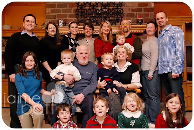 Christmas Eve at Josh's Parents
