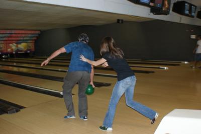 Heather_Freddie bowling