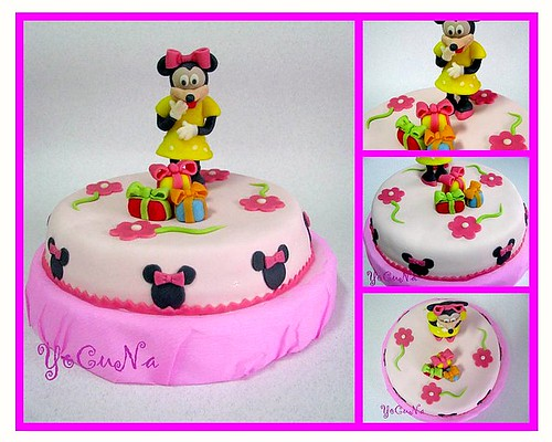 Tarta Decorada Minnie - a photo on Flickriver