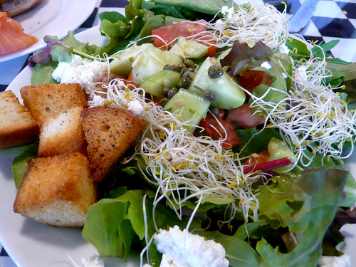 Seasonal Green Salad at Gourmet Shop