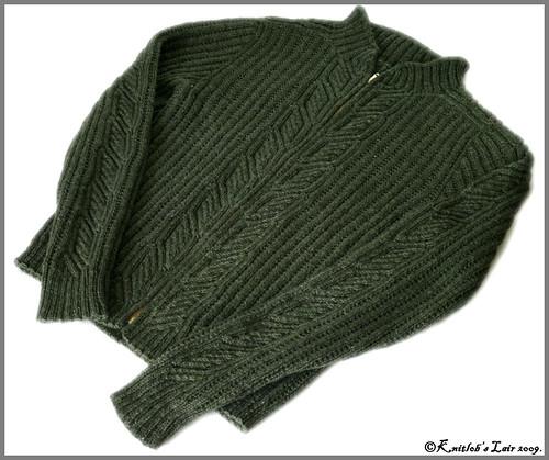 vihreä villatakki 2
