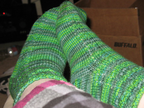 FO: Lucky Cotty Socks