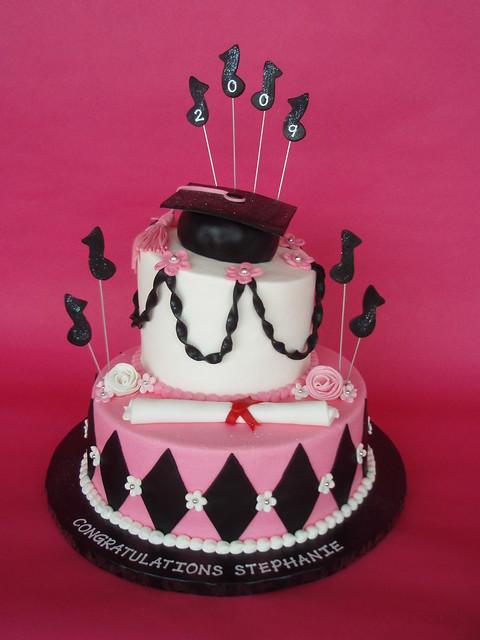 Music Graduation Cake