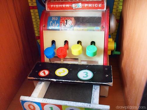 arthur's circus: fisher price cash register