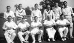 Burghley Park Cricket Club 2nd XI 1958
