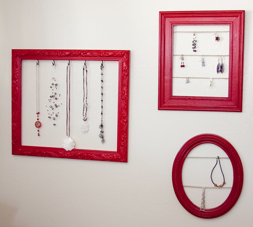 Jewelry Display Frames