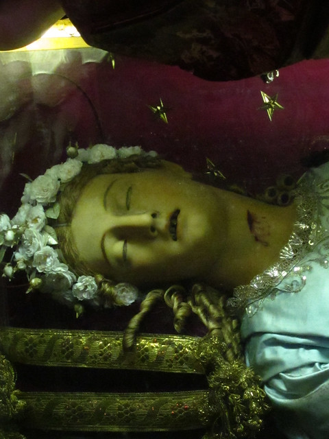 The disturbing body in Santa Maria della Vittoria