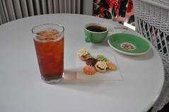 Tea (neshachan) Tags: food cookies hotel tea wv hightea thegreenbrier whitesulphurspringswv