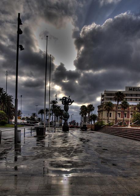 Nuevo día. Foguera Port d'Alacant