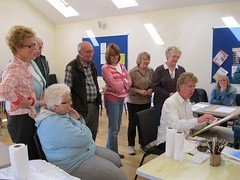 "Art Class -  Steve Demonstrating • <a style=""font-size:0.8em;"" href=""http://www.flickr.com/photos/64357681@N04/5866502901/"" target=""_blank"">View on Flickr</a>"