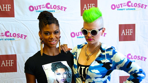 Out of the Closet, Donate Fashion Function (March 9, 2014)
