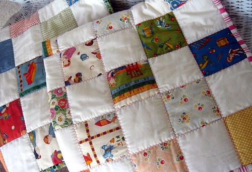 boys and girls american jane crib quilts