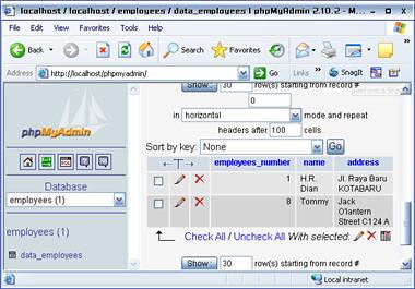 php mysql insert data phpmyadmin