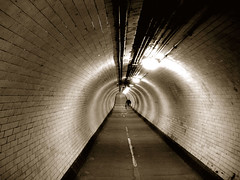 313 (Mister Tof) Tags: bw london greenwich tunnel sonycybershot onepictureaday 050308 underthethames