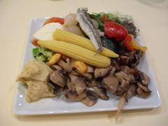 an plate of appetizers in Geneva