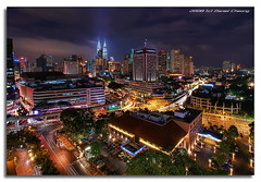 Vibrant KL (DanielKHC) Tags: city longexposure night lights bravo cityscape dynamic sony petronas towers explore malaysia kuala alpha hdr lumpur a100 photomatix supershot tonemapped 5exp spectnight tamron1118mm anawesomeshot aplusphoto danielcheong megashot danielkhc theperfectphotographer