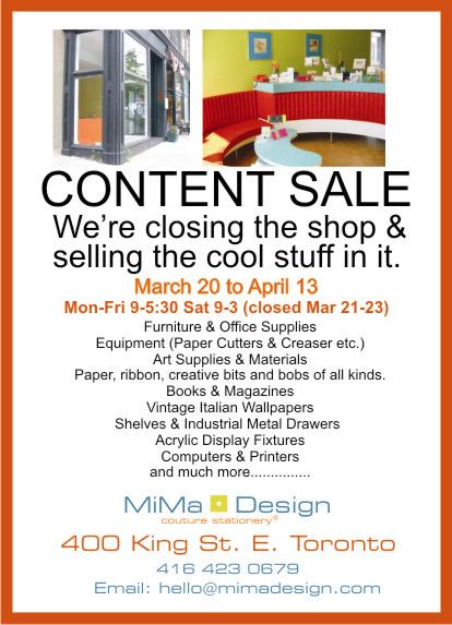 mima design sale