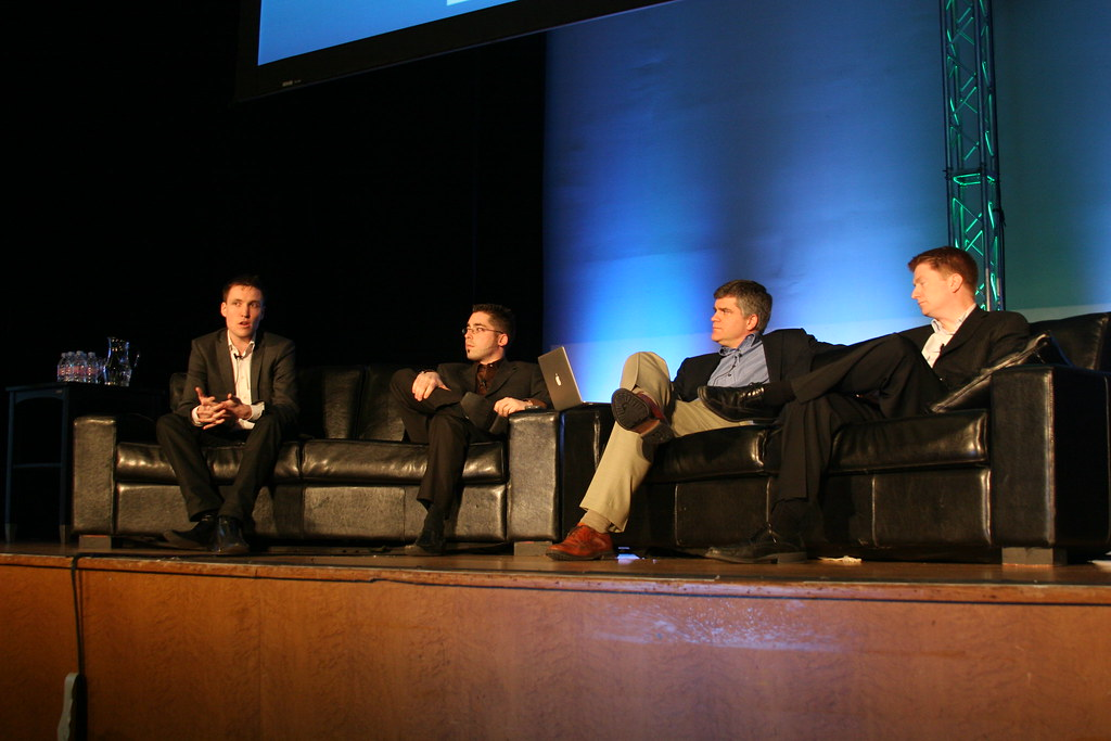 The panel discusses innovation in wireless