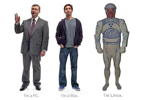 I am a Mac, I am a PC, and I am Linux