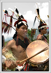 Tutsa Drummer (Arif Siddiqui) Tags: travel people india portraits festivals lifestyle tribes northeast arif arunachal changlang tribals siddiqui arunachalpradesh northeastindia jairampur tangsa arunachalpradeshindia tutsa pongtu arunachali