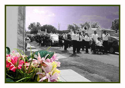 Ashley Morris Jazz Funeral