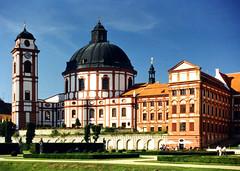 Church of St. Margareth (jandudas) Tags: castle europe czech central eu tschechien baroque bohemia checa tsjechi ceca esko tchquie