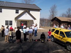Dedication of new building at Camp Asbury (westbarrechurch) Tags: camp house open asbury