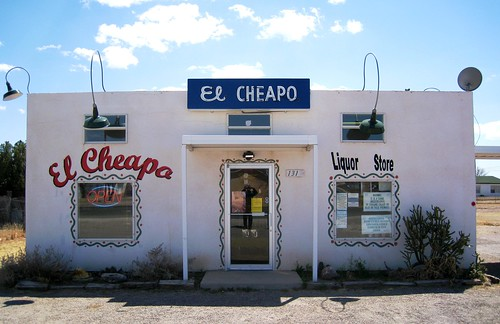 El Cheapo Liquor, Marfa, TX by Michael R. Swigart.