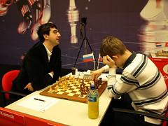 Kramnik en Carlsen
