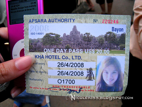 angkor one day pass