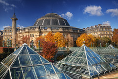 Autumn at Paris Market Exchange HDR (David Giral | davidgiralphoto.com) Tags: paris france commerce market bourse exchange hdr 3xp tthdr